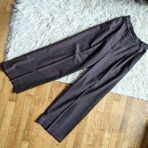 CHANEL soft wool slacks